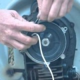 Victa Power Torque pull start repair instructions