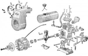 Villiers Mk10 on harley davidson engine diagram